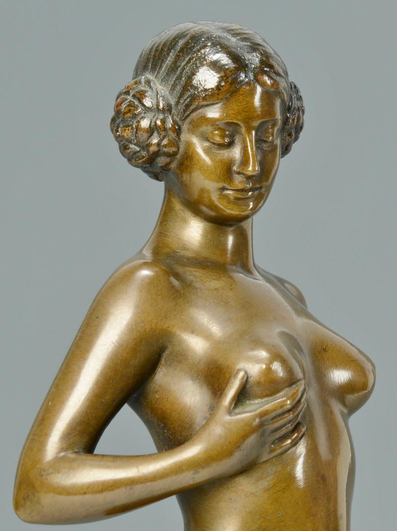 Lot 232: Eugene Wagner Bronze Nude