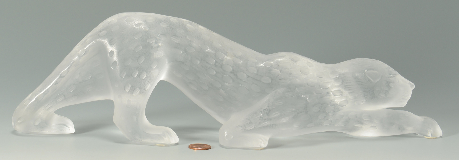 Lot 236: Lalique Crystal Leopard