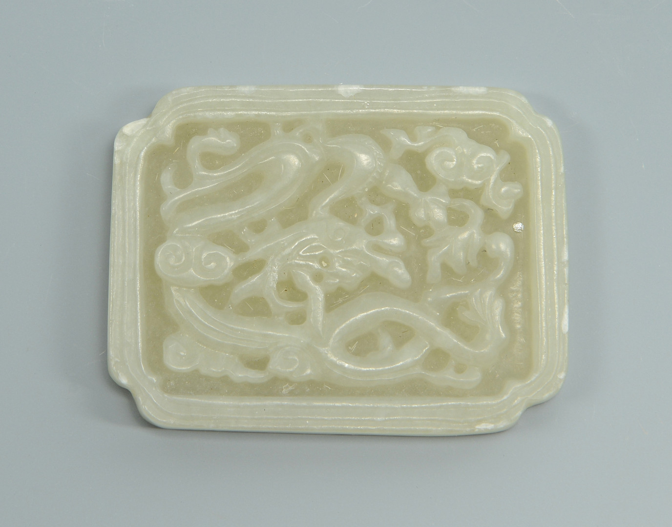 Lot 249: 3 Chinese Jade Carved Plaques