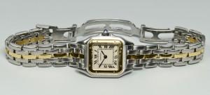 """Lot 269: Cartier """"Or et Acier"""" Watch"""