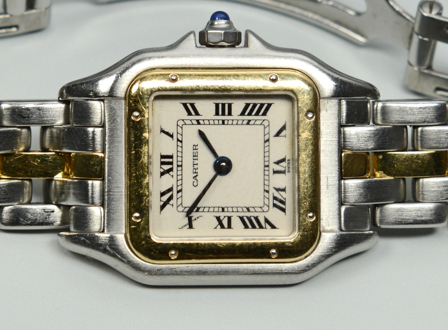 "Lot 269: Cartier ""Or et Acier"" Watch"