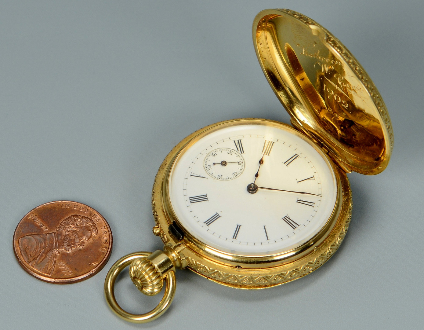 Lot 271: A. Golay Leresche & Fils 18k Pocketwatch