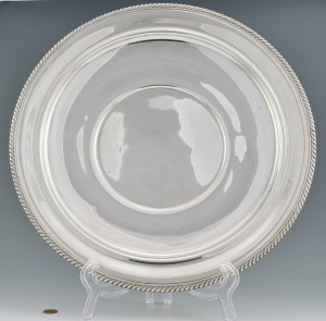 Lot 277: Large Gorham Sterling Platter
