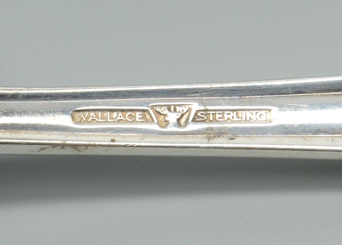 "Lot 280: Wallace ""Stradivari"" Sterling Flatware and more"