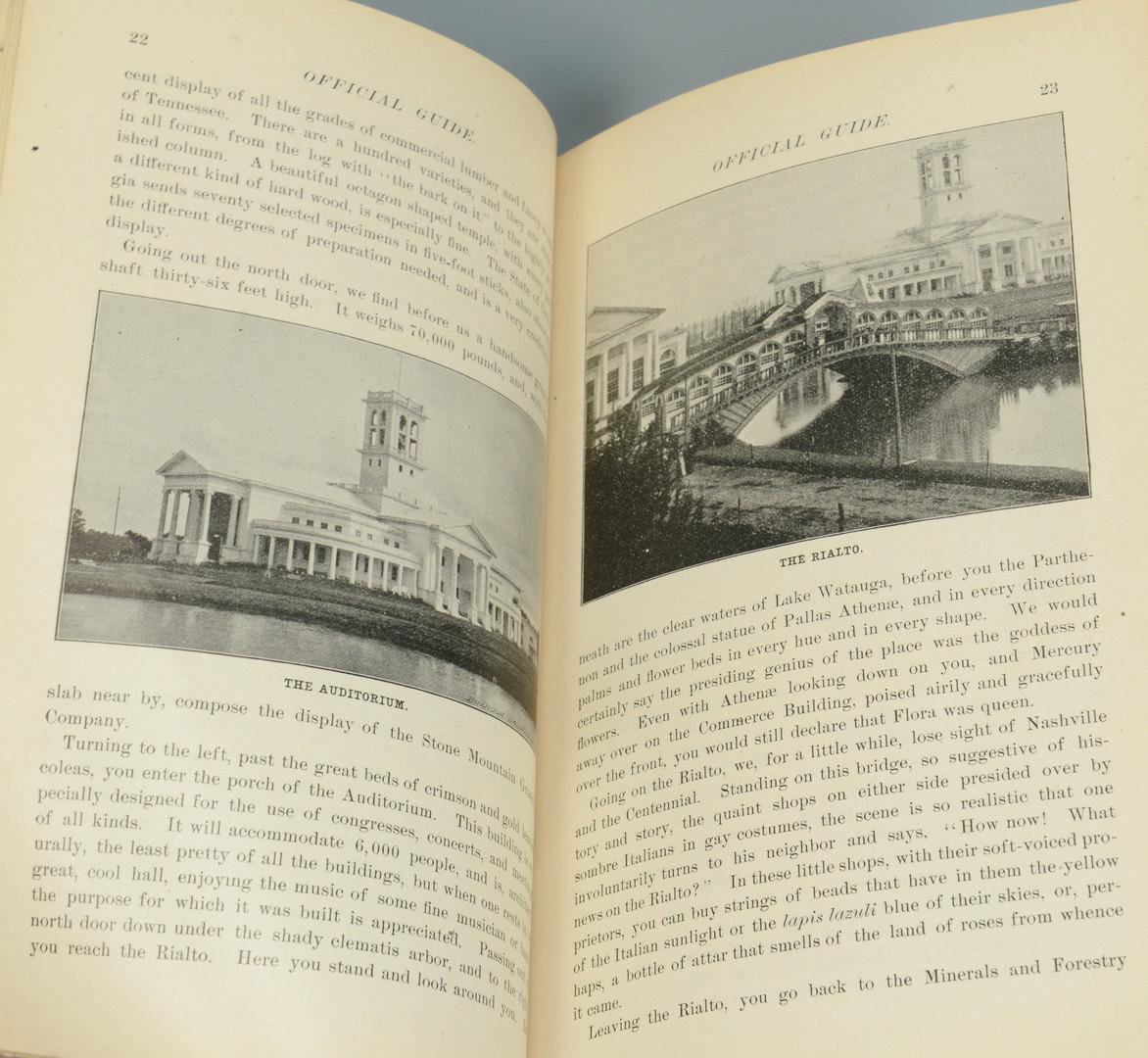 Lot 296: TN Centennial Art Catalog and Program