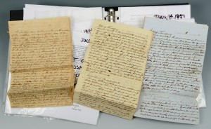 Lot 297: TN Slavery Lawsuit Archive & books