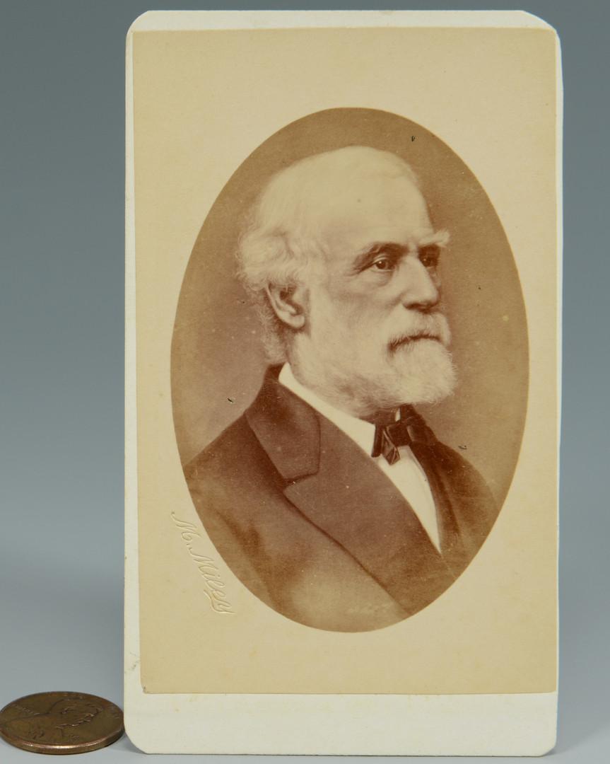 Lot 305: Robert E. Lee CDV
