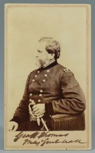 Lot 306: Civil War Gen. Thomas signed CDV
