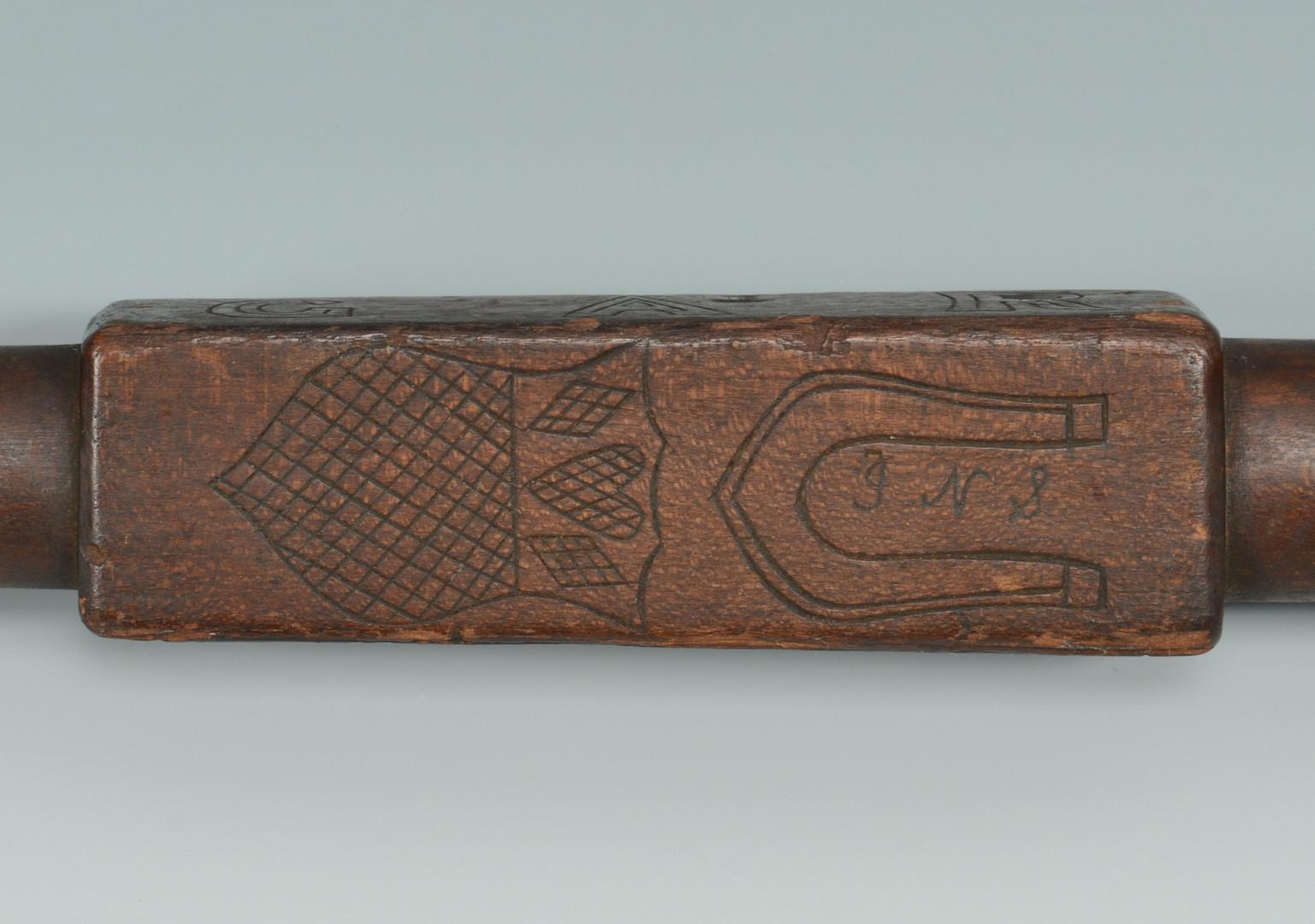 Lot 310: 2 Folk Art Canes, 1 Civil War GAR