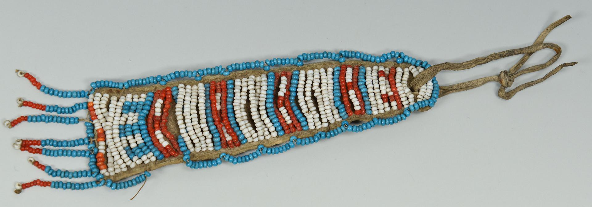 Lot 321: Plains Indian War Club, Sheaths