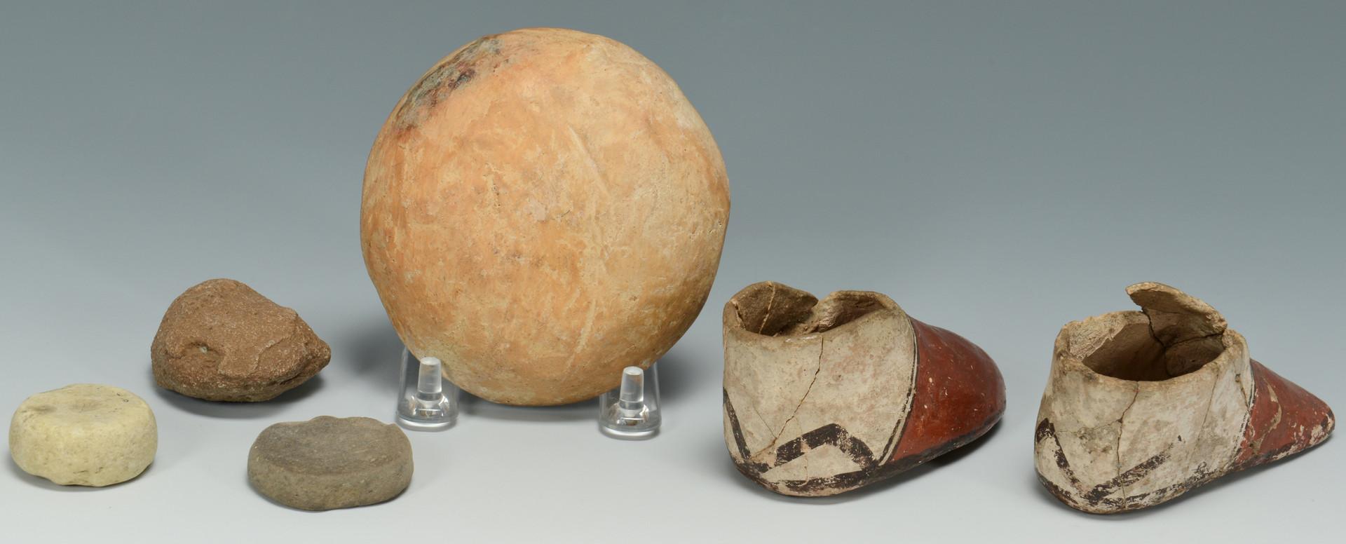 Lot 324: Cochiti Pueblo Drum & Pottery