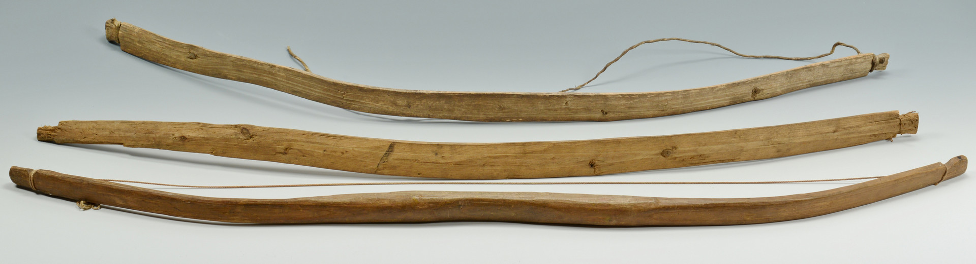 Lot 327: Plains Indian Quiver, Bows, Arrows
