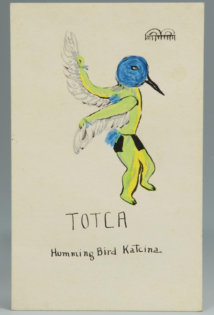 Lot 329: Romando Vigil W/C of Thunderbird w/ 2 others