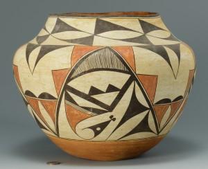 Lot 332: Native American Zia Olla Jar