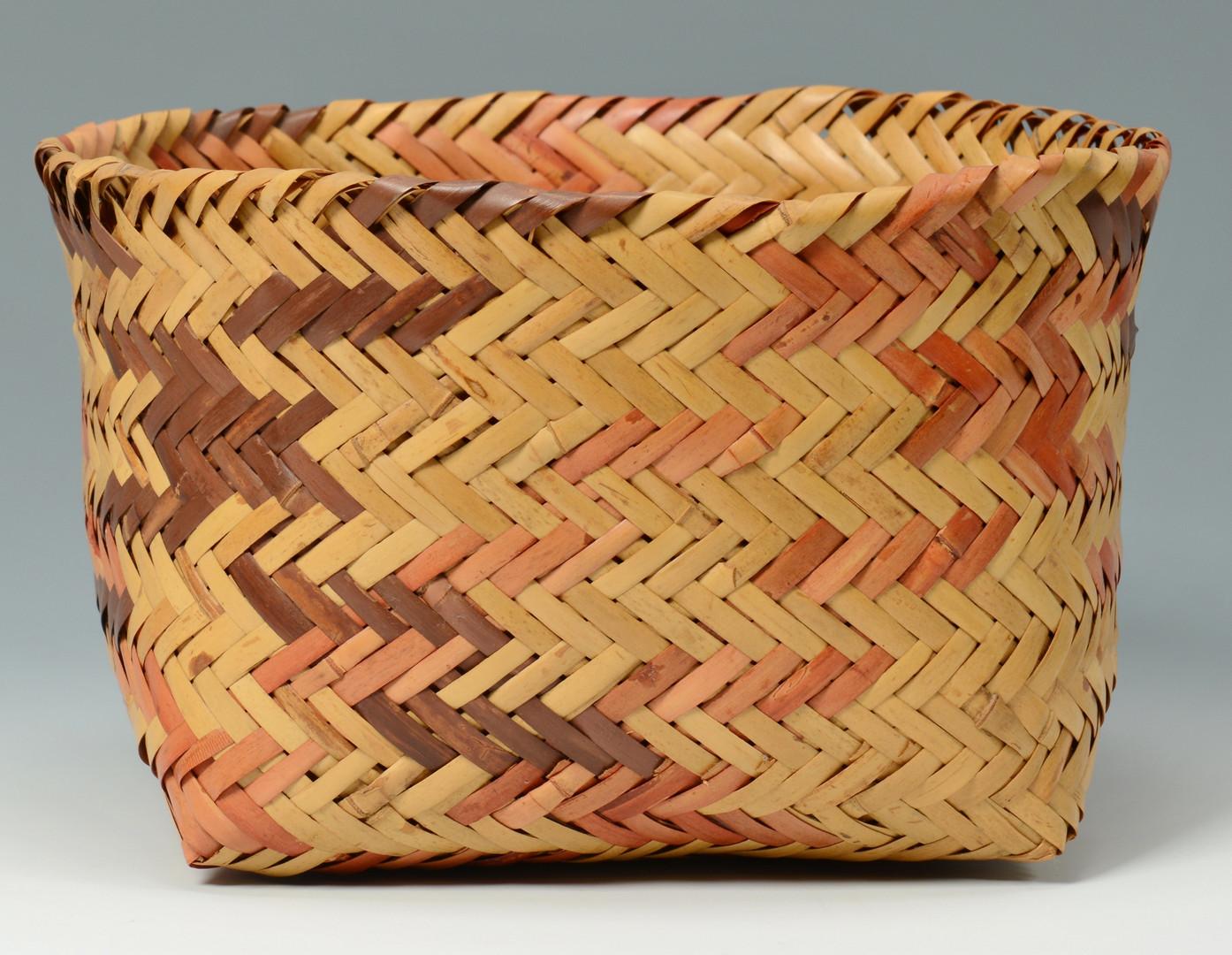 Lot 339: Cherokee Basket & Points