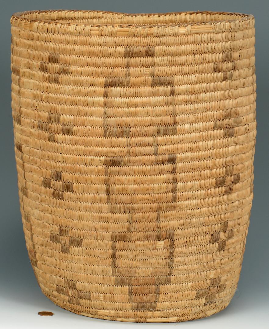 Lot 343: Large Early Papago Basket