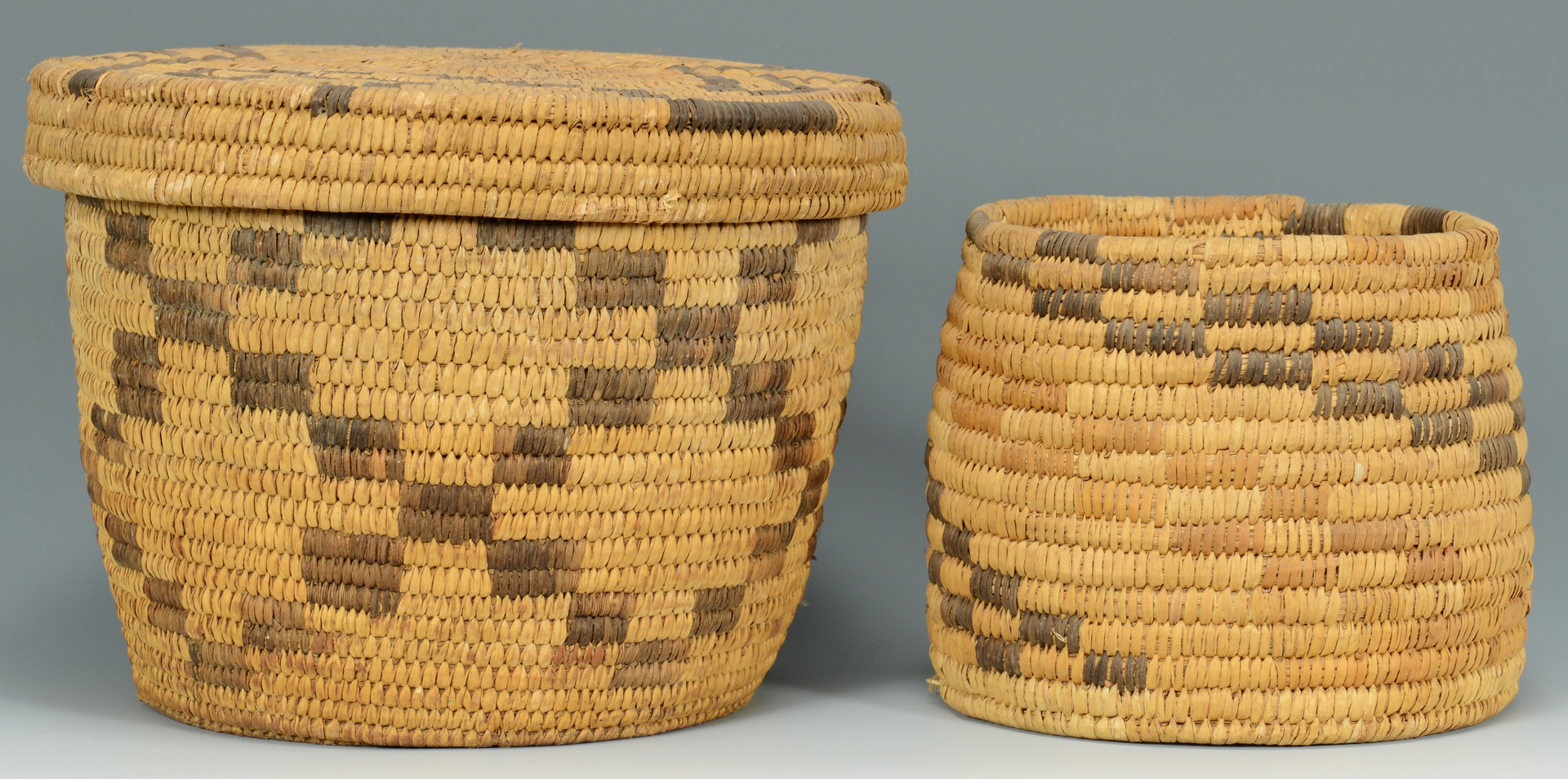Lot 344: 3 Papago Baskets