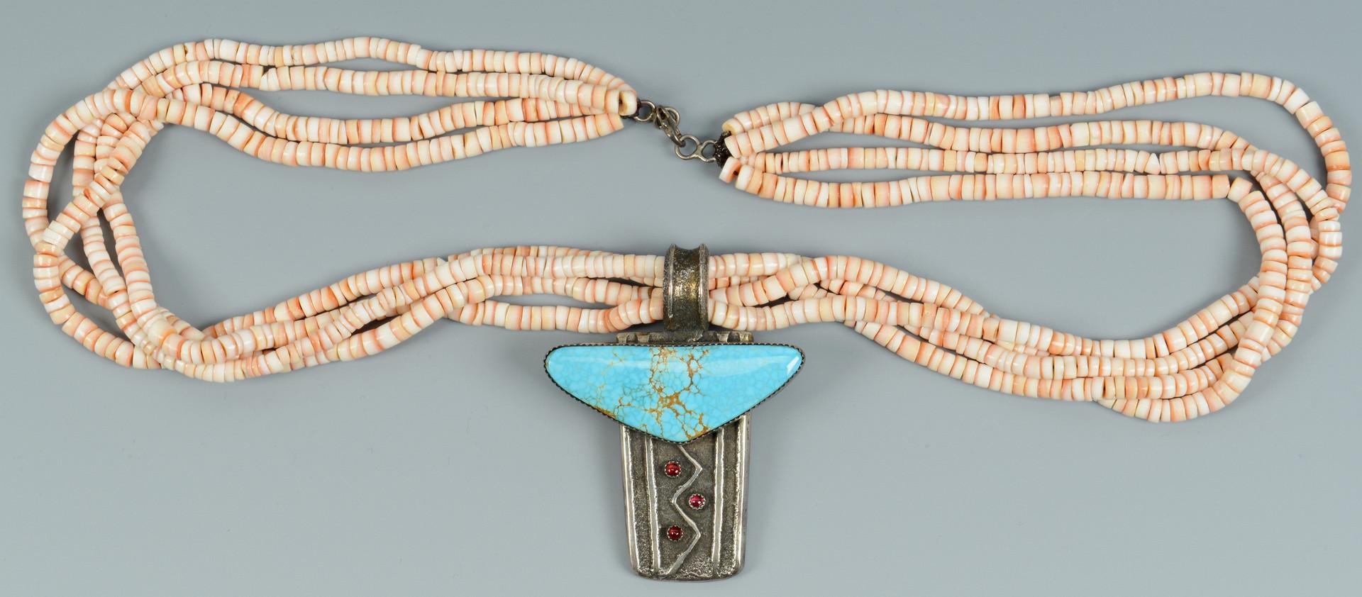 Lot 348: Southwest Beaded Jewelry, 4 pcs