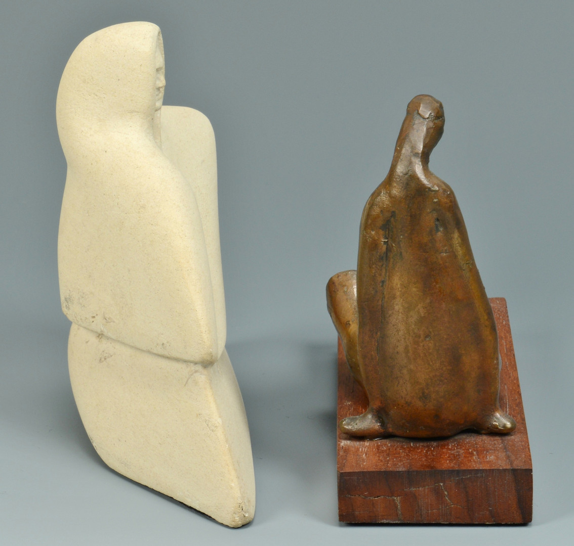 Lot 349: 2 Tom Lawless Sculptures