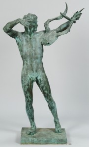 Lot 354: After John T. Donoghue, Bronze Sophocles