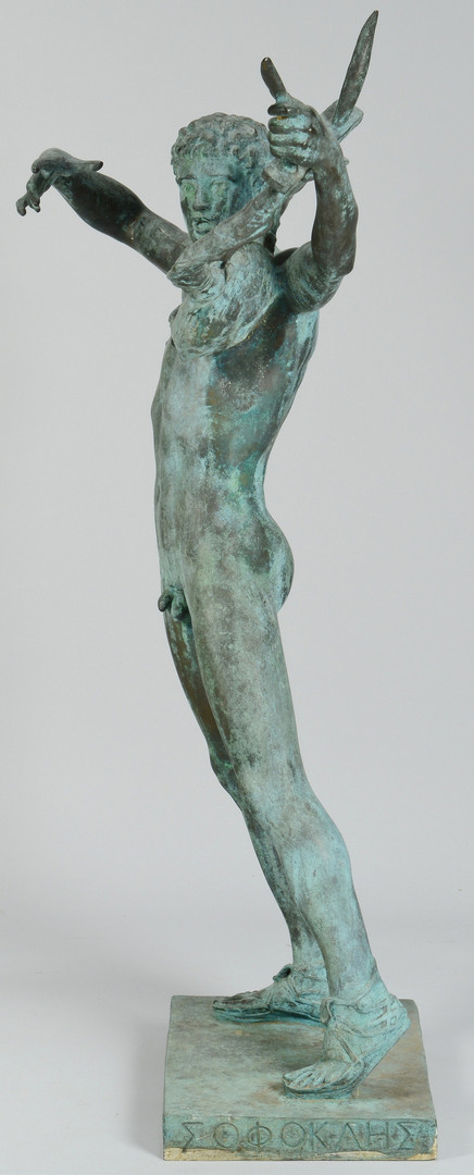 Lot 354: After John T. Donoghue, Bronze Sophocles