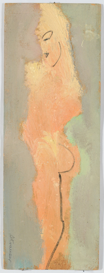 Lot 362: Sterling Strauser still life and nude