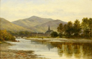 Lot 367: William B. Brown o/b Earn River Landscape