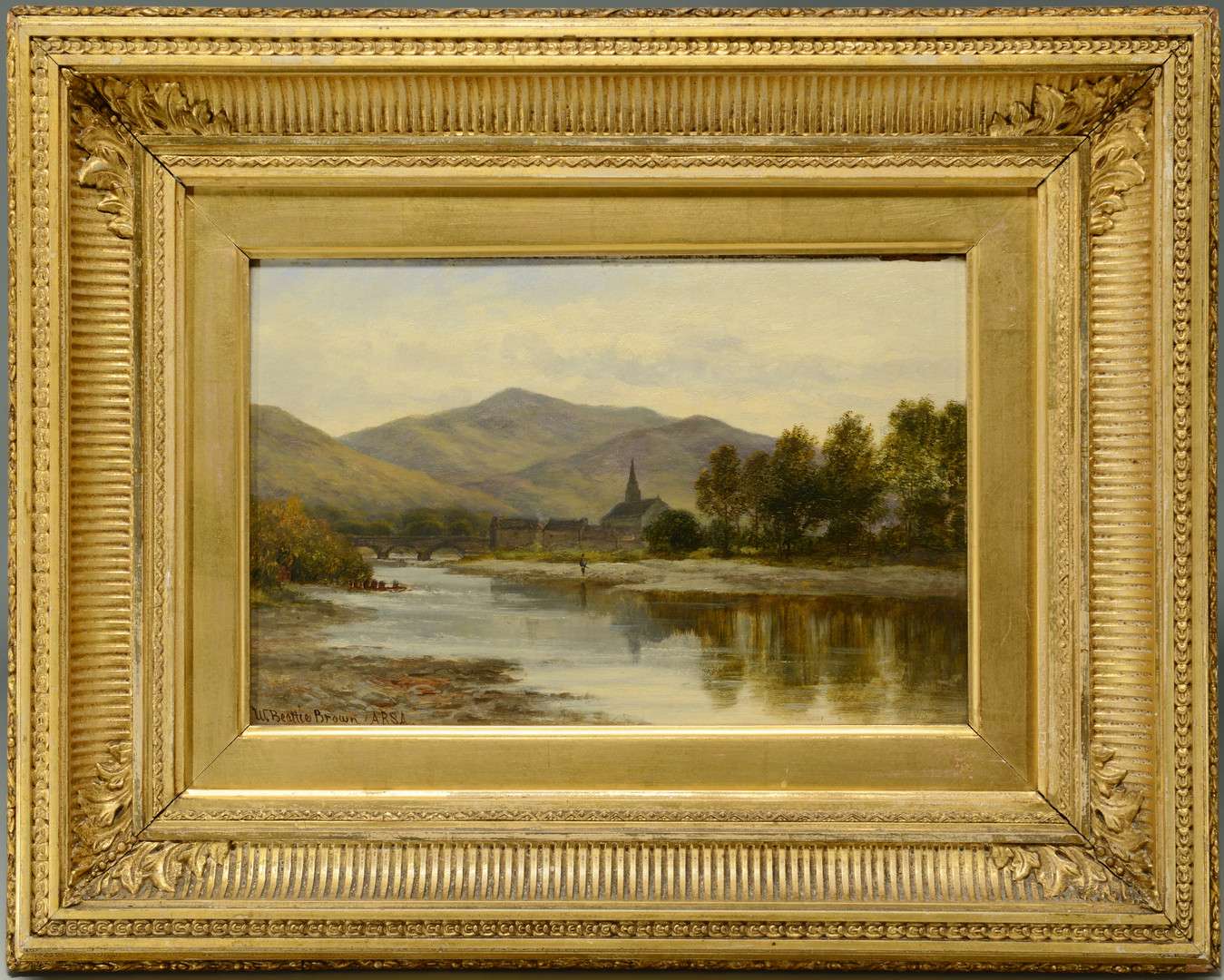 Lot 367: William B. Brown o/b Earn River Landscape