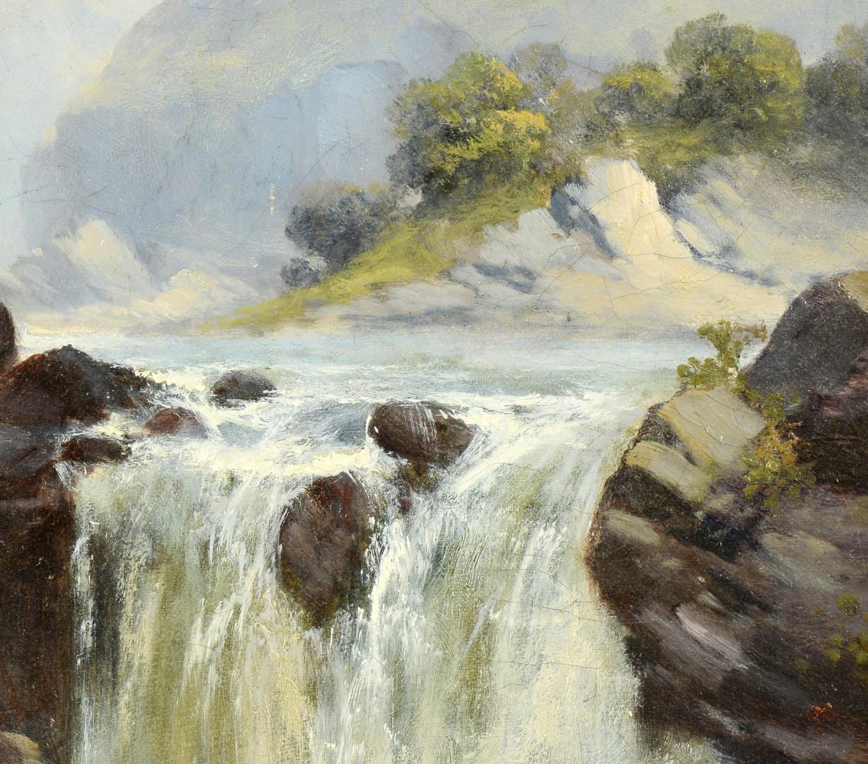 Lot 368: George L. Beetholme Oil on Board Landscape