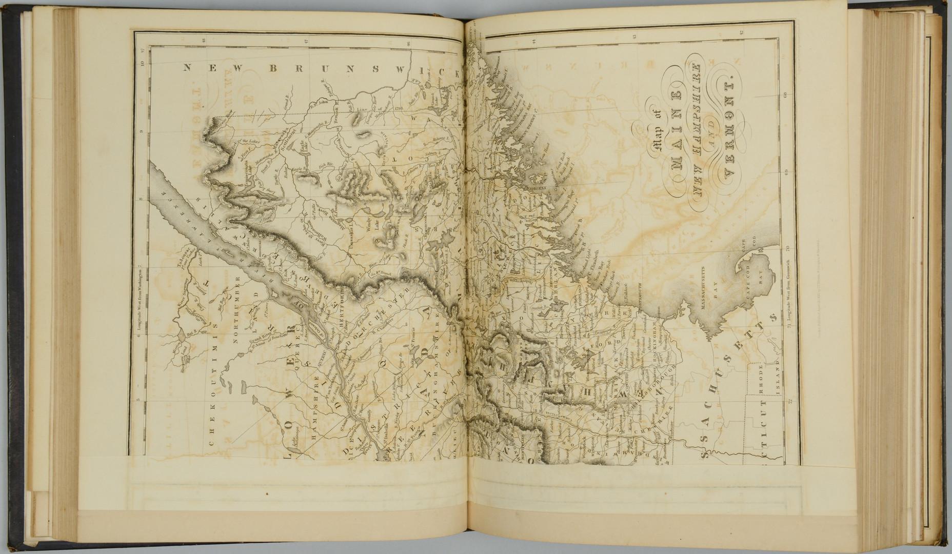 Lot 36: 3 19th c. American Map Books
