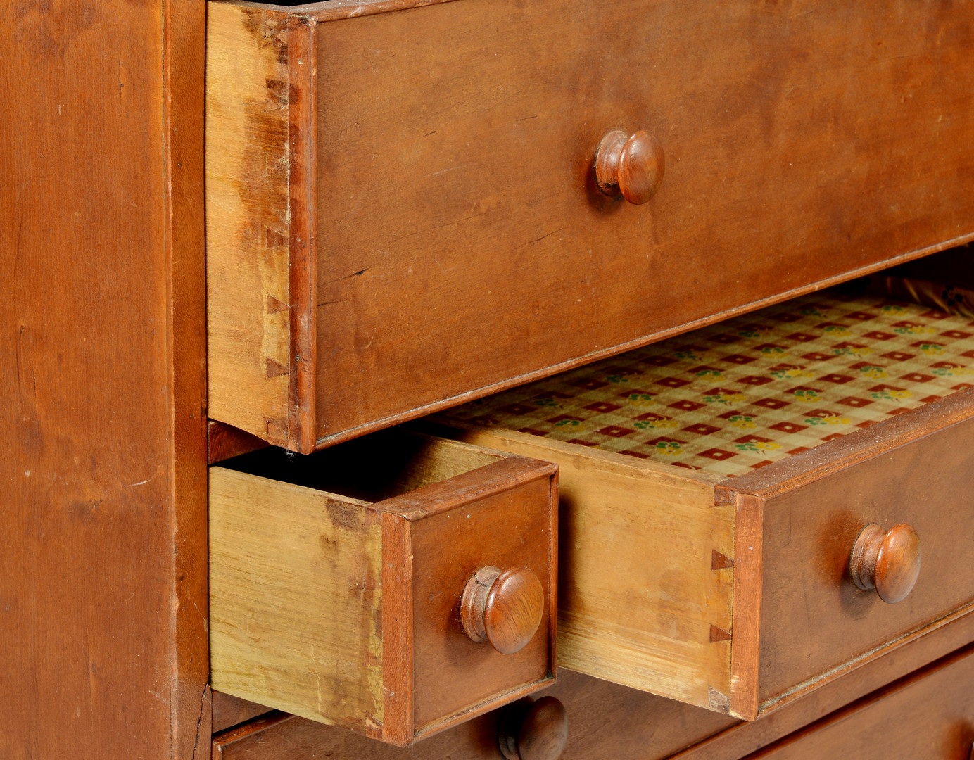 Lot 384: American Cherry Dimunitive Chest
