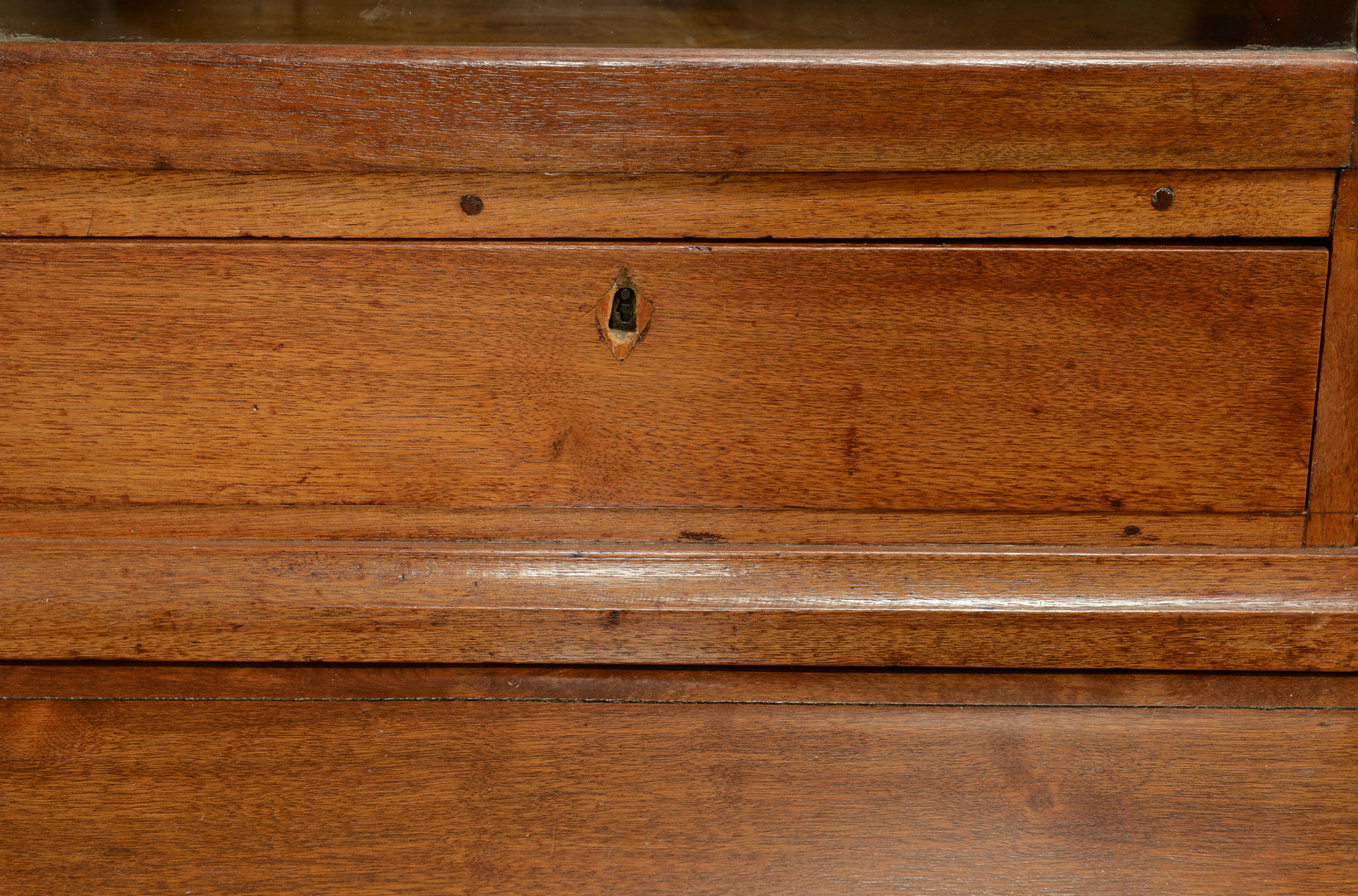 Lot 388: Middle TN Desk & Bookcase