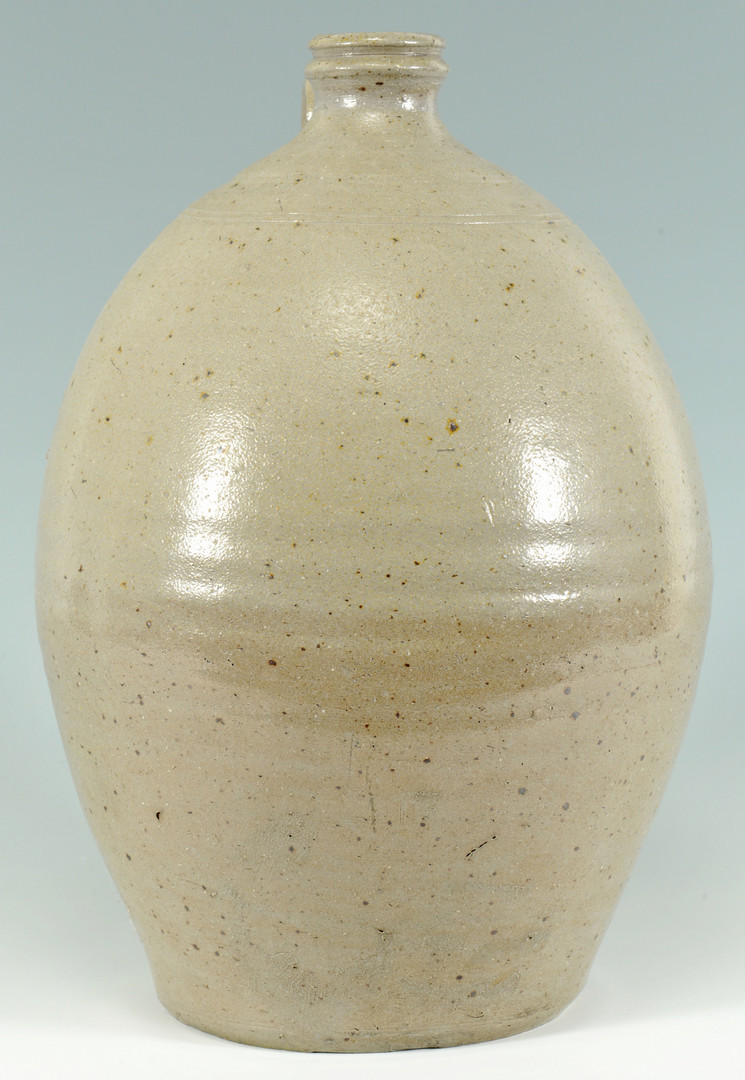 Lot 397: Middle TN Stoneware Pottery Jug