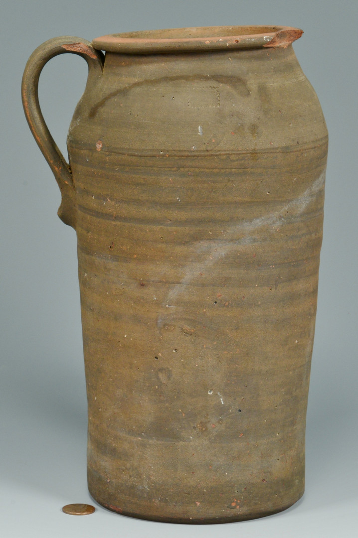 Lot 399: Middle TN Cylindrical Honey Jar
