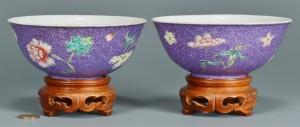 Lot 3: Pr. Republic Famille Rose Bowls