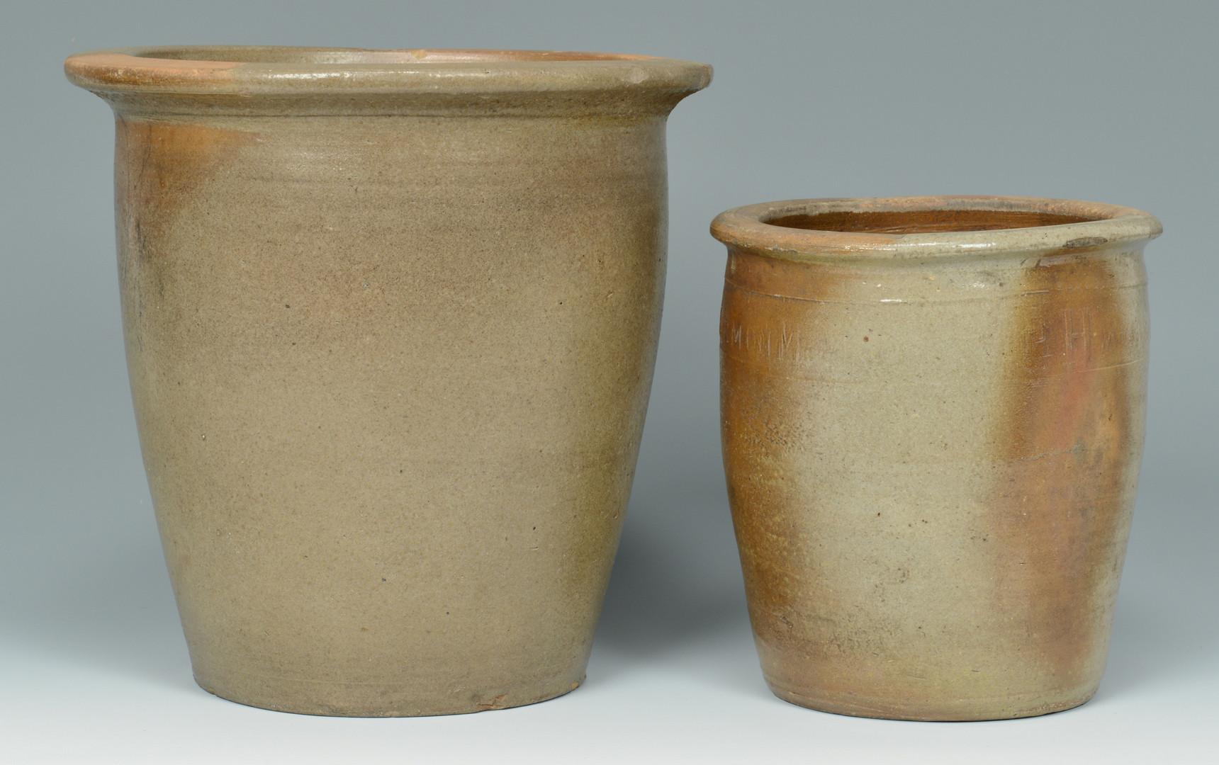 Lot 401: 2 East TN Pottery Items, Greene Co.