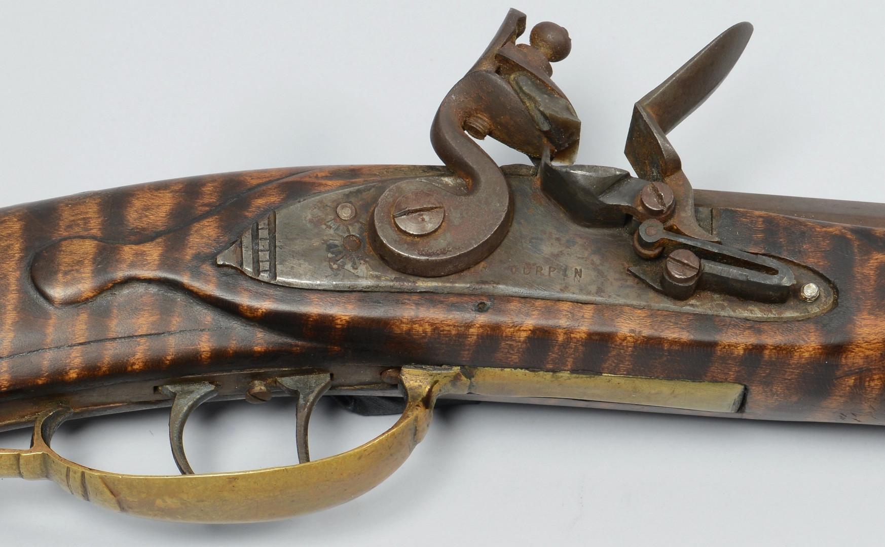 Lot 402: L. R. Turpin Flintlock Long Rifle