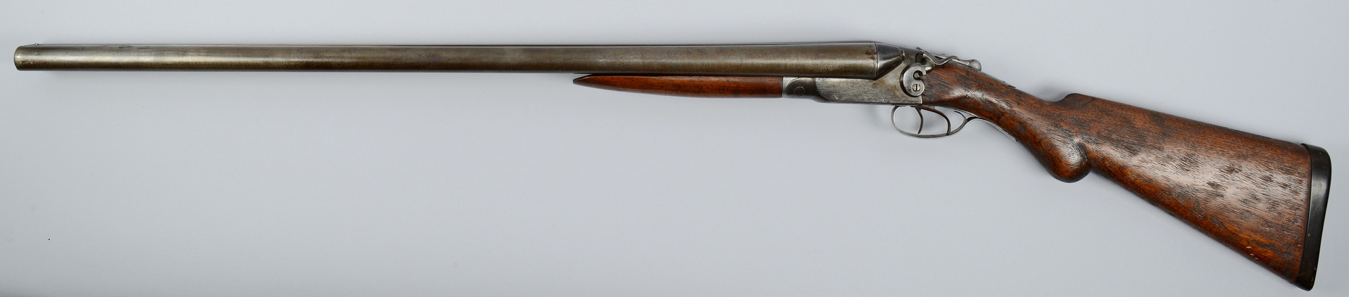 Lot 403: Ithaca Percussion 10 Gauge Shotgun 10 Gauge Double Barrel Shotgun