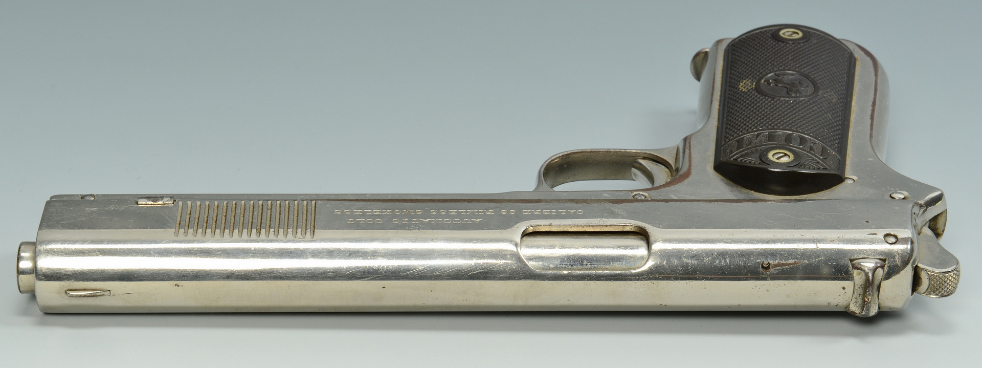 Lot 404: .38 Colt Model 1902 Pistol, Bonnie & Clyde