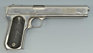 Lot 404: .38 Colt Model 1902 Pistol, Bonnie & Clyde - Image 8