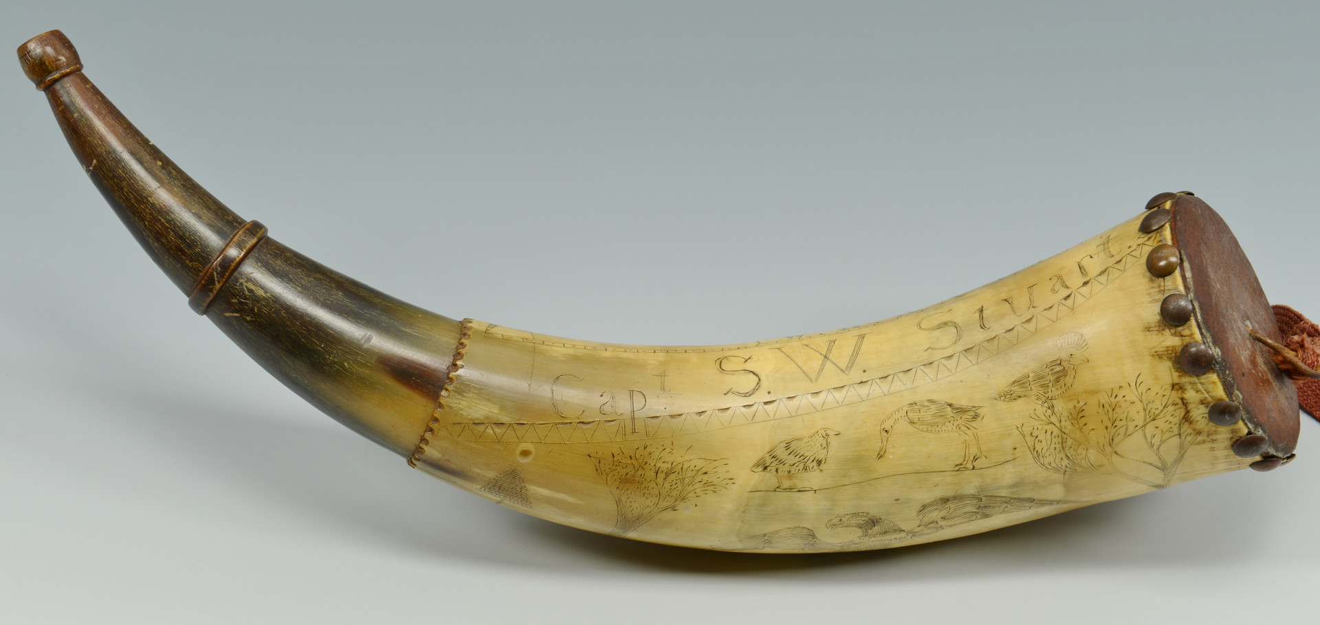 Wood Bison Powder Horns likewise Planning And Designing Outdoor Wedding likewise A Brief History Of The Toothbrush in addition Mountain Man Inspire as well Gunpowder Then And Now Paper Cartridges. on 18th century powder horns