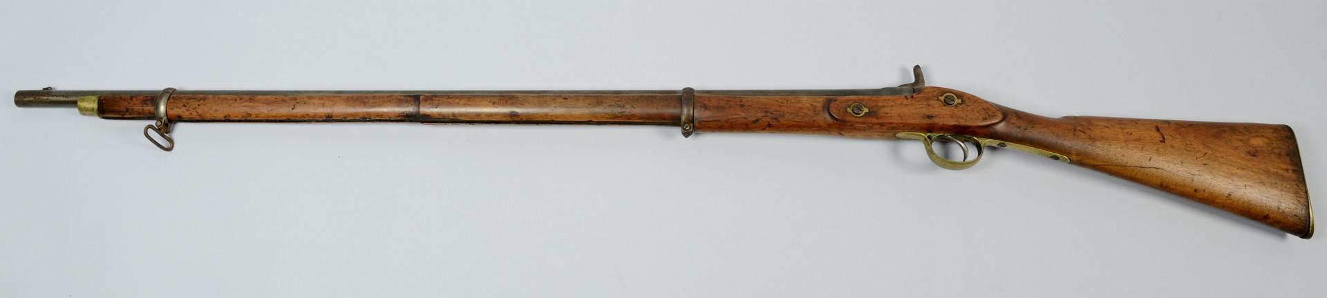 Lot 418: Barnett London Percussion Musket