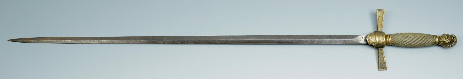 Lot 420: M1840 Horstman & Knoxville Sword