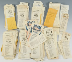 Lot 423: 1864 Presidential Ballots, 730 Total