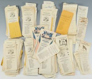 Lot 423: 1864 Presidential Ballots, 730 Total