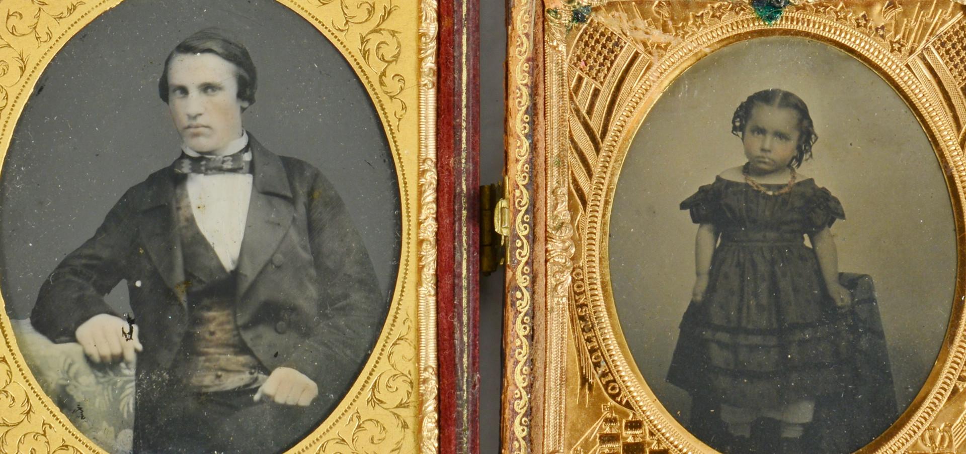 Lot 427: 10 Tintypes, Ambrotypes & Daguerreotypes