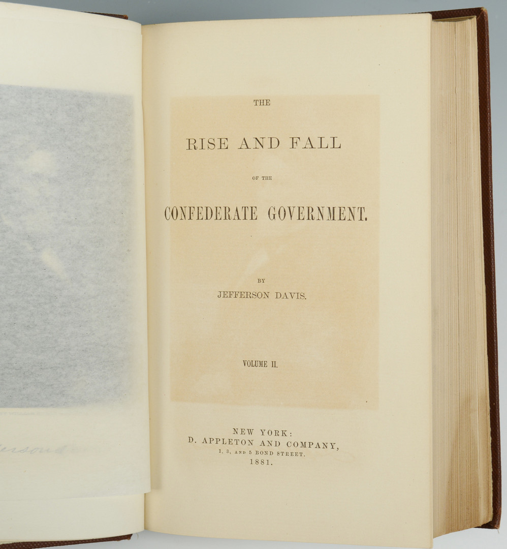 Lot 432: 4 Civil War Confederate Related Books