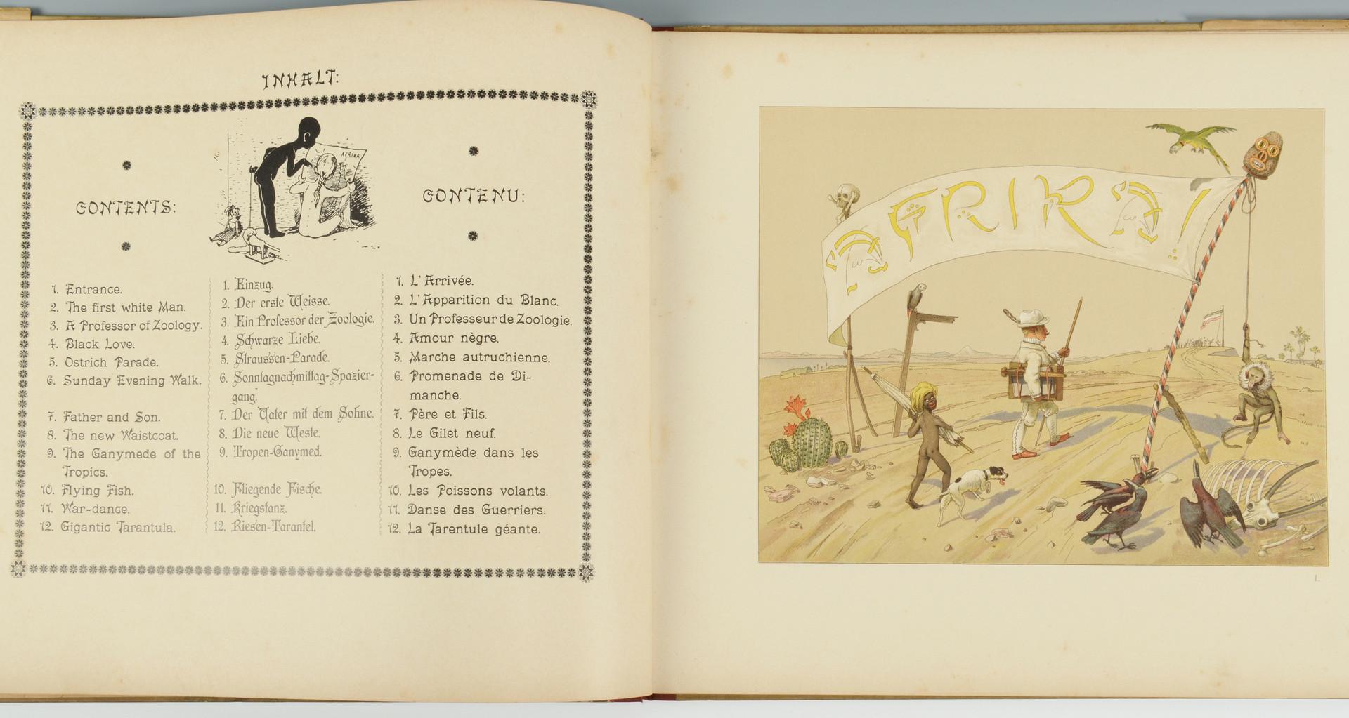 Lot 434: 1895 Hans Von Volkmann, Africa