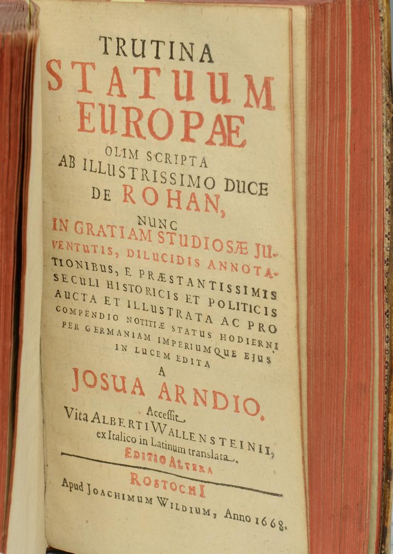 Lot 435: 3 Historic European books