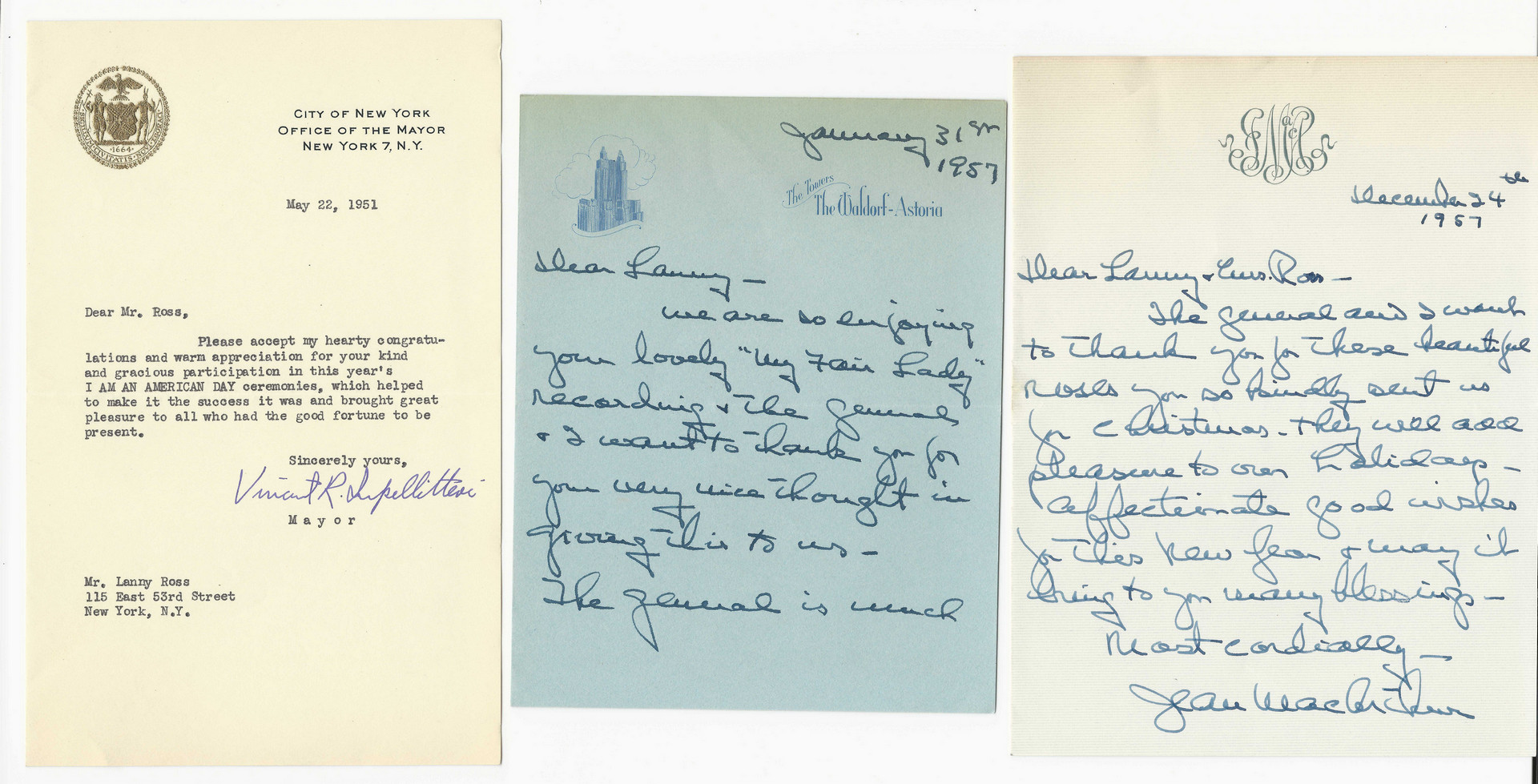 Lot 439: Political & Military Autographs